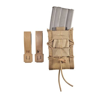 Magazine Carrier Taco Rifle Molle Mount - Modular Single Rifle Mag Pouch Coyote