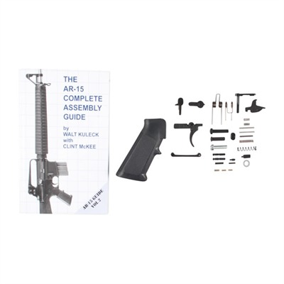 Ar-15 Complete Assembly Guide With Parts - Bushmaster Ar15 Lower Parts Kit & Assembly Guide