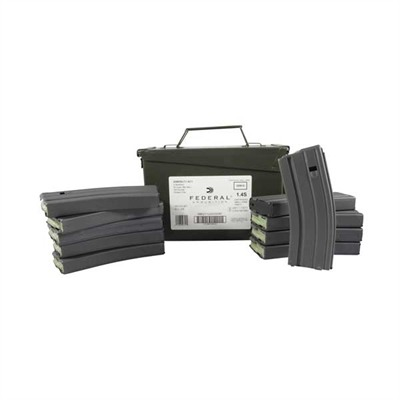 Lake City Ammo 5.56x45mm Nato 62gr Xm855 With Brownells Mags - 5.56x45mm Nato 62gr Fmj 420 Can & 10