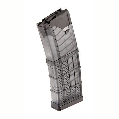 Ar-15/M16 30rd 223/5.56 L5 Advanced Warfighter Magazines - L5awm 30rd Translucent