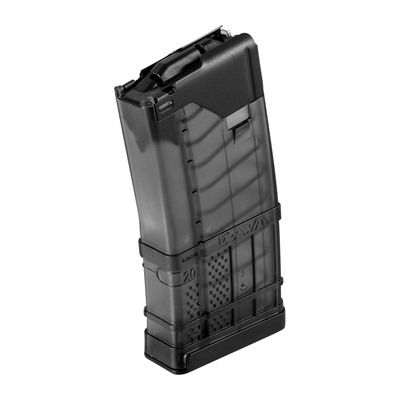 Ar-15/M16 30rd 223/5.56 L5 Advanced Warfighter Magazines - L5awm 20rd Translucent