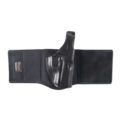 Ankle Glove Holsters - Ankle Glove Kahr K40-Black-Right Hand