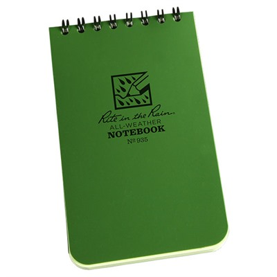 All-Weather Spiral Bound Notebooks
