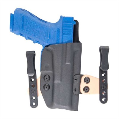 "Ctac Iwb Holster - Ctac Glock 17/22/31 W/Rail Right Hand 1.5"" Black"
