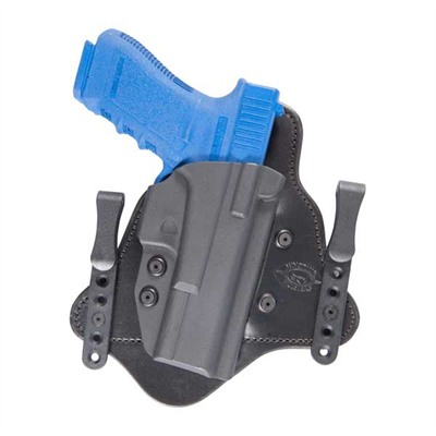 "Minotaur Mtac Concealment Holster - Mtac Glock 17/22/31 W/Rail Right Hand 1.5"" Black"