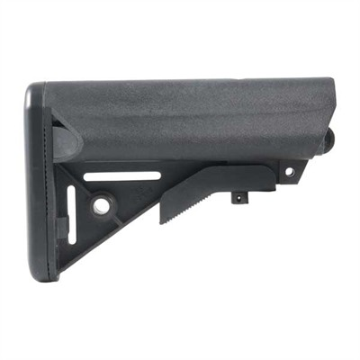 B5 Systems Ar-15 Enhanced Sopmod Stock Collapsible Mil-Spec - Ar-15 Enhanced Sopmod Stock Collapsible Mil-Spec Blk