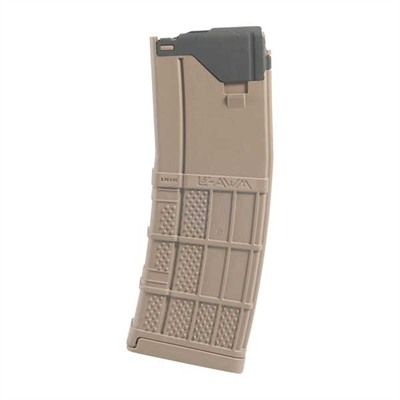 Ar-15/M16 30rd 223/5.56 L5 Advanced Warfighter Magazines - L5awm 30 Round Opaque Flat Dark Earth