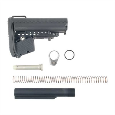 Ar-15 Emod A5 Stock Assy Collapsible Mil-Spec - Ar-15 Emod A5 Stock Assy Collapsible Mil-Spec Blk