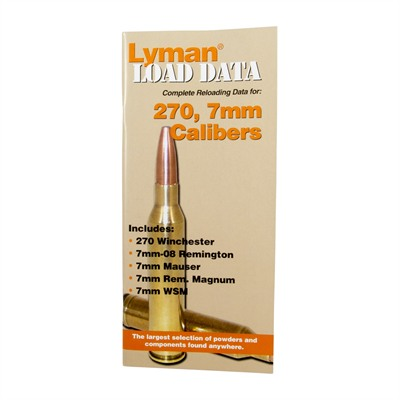 Lyman Load Data-270 & 7mm Calibers