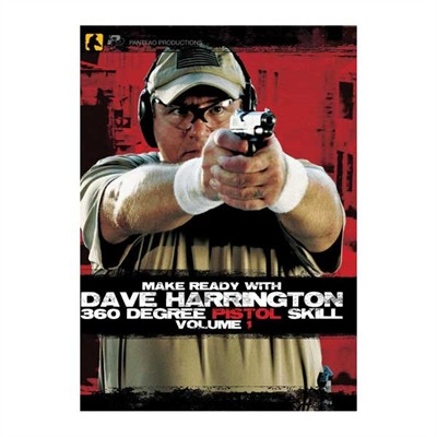 Make Ready With Dave Harrington: 360 Degree Pistol Skill Dvd Make Ready W/Dave Harrington: 360 Pistol 1 Dvd