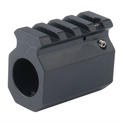 Ar-15/M16 Picatinny Rail Adjustable Gas Block - Picatinny Rail Adjustable Gas Block, .750