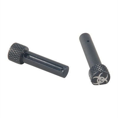 Ar-15/M16/ 308 Ar Extended Pivot/Takedown Pins - Ar-15/M16 Extended P/T Pin Set, Biohazard