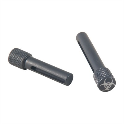 Ar-15/M16/ 308 Ar Extended Pivot/Takedown Pins - Ar-308 Extended P/T Pin Set, Biohazard