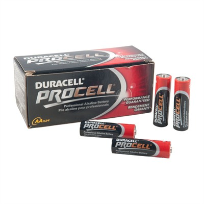 Duracell Procell Aa Alkaline Batteries - Procell Aa Alkaline Batteries 24/Pack