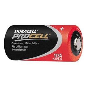 Pro Cell Batteries - Procell Cr123a Lithium Batteries 6/Pack
