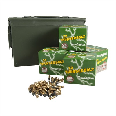 Brownells Remington 2000 Rnd .22lr Thunderbolt Ammo Can