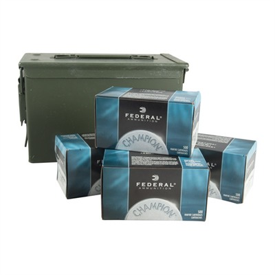 Brownells Federal Champion 2000 Rnd .22lr Ammo Can