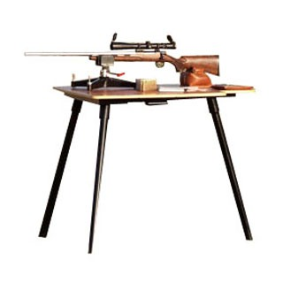 Stukeys Sturdy Shooting Bench & Leg Caddy