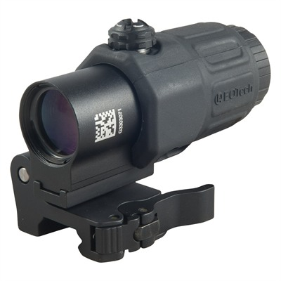 G33 Magnifiers - G33 3x Magnifier W/ Sts Side Mount Black