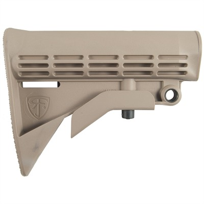 Ar-15/M16 Enhanced M4 Stock - Enhanced M4 Stock, Tan