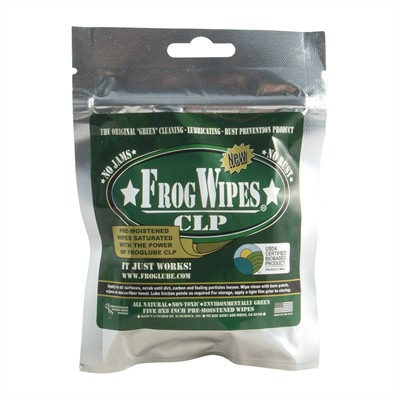 Clp Wipes - Froglube Paste Wipes, 5-Pack