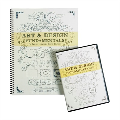 Lee Griffiths 100-011-037 Art & Design Book And Dvd Combo Pack