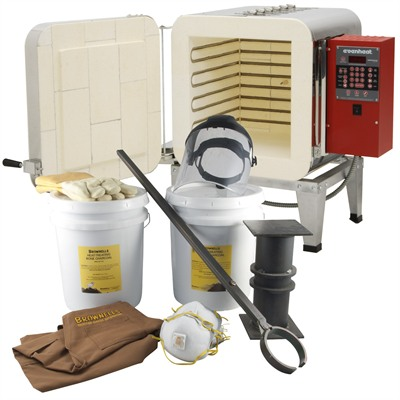 Ht-1 Heat Treat Oven And Color Case Hardening Kit - Color Case Hardening Kit