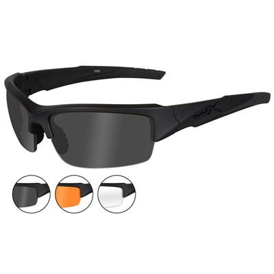 Valor Safety Glasses - Valor Glasses, Gray/Clear/Rust