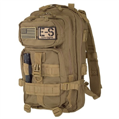 Echosigma Emergency Systems Get Home Bag - Emergency Get Home Bag, Coyote