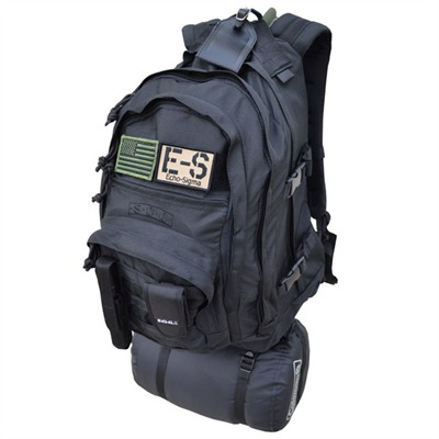 Echosigma Emergency Systems Bug Out Bag - Echo-Sigma Emergency Bug Out Bag Classic, Black