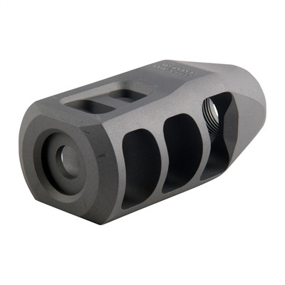 Ar .308  M11 Muzzle Brake 30 Caliber - M11 Muzzle Brake 30 Caliber 5/8-24 Ss Silver