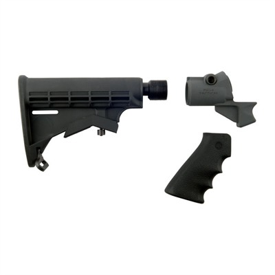 Mesa Tactical Products Remington 870/Mossberg 500 Telescoping Buttstock Kit - Leo Buttstock Kit Recoil Reducing, Moss 500 12 Gauge Only