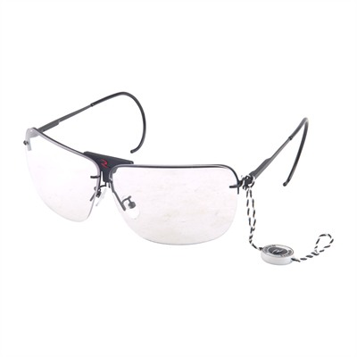 Rsg 3 Interchangeable Lens Shooting Glasses - Amber,Clear Smoke Rsg 3 Lens Shooting Glasses Black