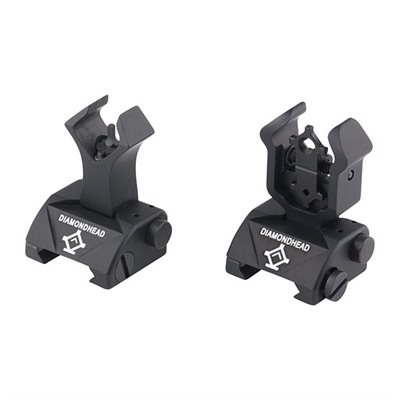 Ar-15  Integrated Sighting System Diam - Ar-15  Flip-Up Integrated Sighting System Diam Black