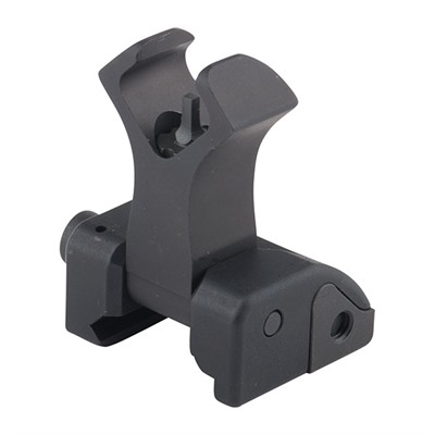 "Ar-15  Flip-Up Diamond Front Sight - 1.879"" Flip-Up Diamond Front Sight Stainless Steel Black"