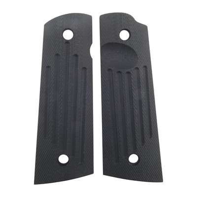 1911 Carry Groove Grips - Carry Groove Grips, Square Bottom