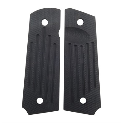 Harrison Design & Consulting 1911 Carry Groove Grips - Carry Groove Grips, Govt, Slim