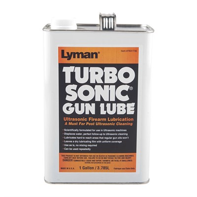 Turbo Sonic Power Professional Ultrasonic Cleaner - Turbosonic Gun Lube, 1 Gallon