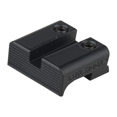 Henning Shop, Llc 100-011-638 Battlehook Rear Sight For  Glock~