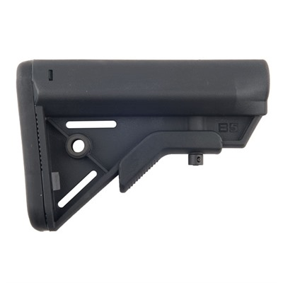 B5 Systems Ar-15 Sopmod Bravo Stock Collapsible Mil-Spec - Ar-15 Sopmod Bravo Stock Collapsible Mil-Spec Blk