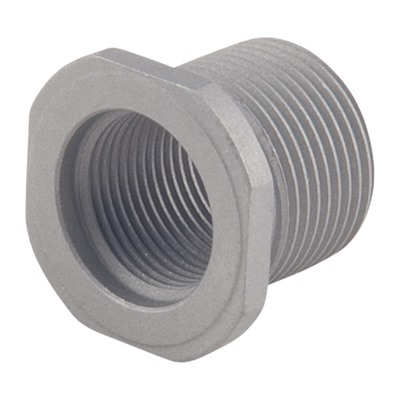 Precision Armament Thread Adapter 1/2-28 To 5/8-24 - Thread Adapter 1/2-28 To 5/8-24 Stainless Steel