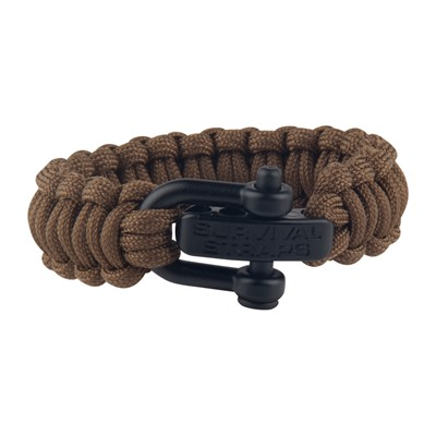 Survival Straps - Coyote Brown, Nylon Clevis 6.5