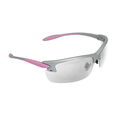 X-Treme Anti-Fog Pink/Silver Shooting Glasses