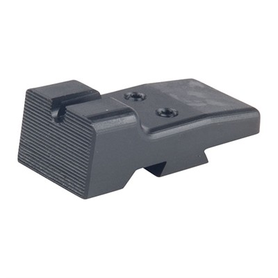 Harrison Design & Consulting 1911 Lpa Rear Sight - Lpa Cut U-Notch Rear Sight, Black
