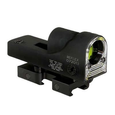 Trijicon 1x24mm Reflex Sights - Rx06-14 Reflex 12.9 Moa Triangle Reticle W/Flattop Mount