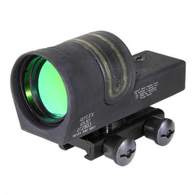 Trijicon 1x42mm Reflex Sights - Trijicon 42mm Reflex, Amber 6.5 Moa Dot W/Ta51 Mount