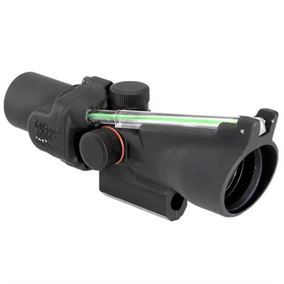 Trijicon Acog 2x20mm Rifle Scope - 2x20 Green Crosshair M16 Carry Handle Matte Black