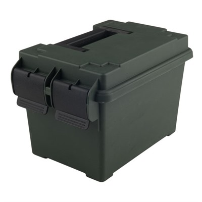 Ammo Can Polymer Green - 45 Caliber Green Ammo Can