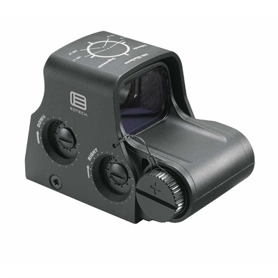 Eotech 300 Blackout/Whisper Holographic Weapon Sight - Xps2-300 Holographic Weapon Sight, Black