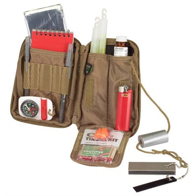 Echosigma Emergency Systems Compact Survival Kits - Compact Survival Kit, Tan